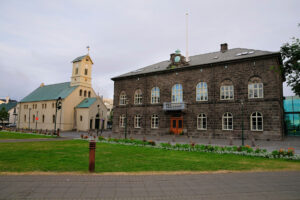 Dómkirkja og Alþingi